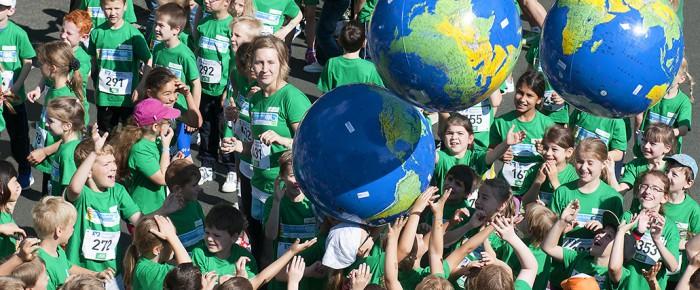 7.500 Kids bei Siegerländer Volksbank Schülerlauf