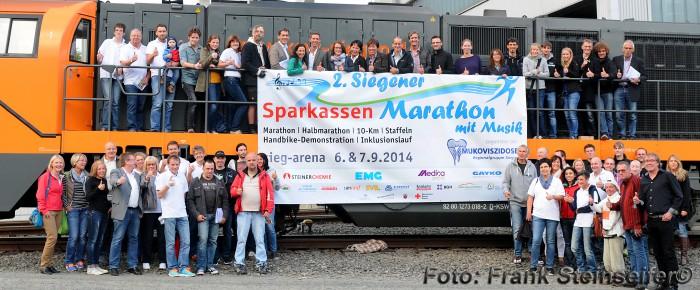 2. Siegener Marathon – mit 13 Bands und 800 Läufern