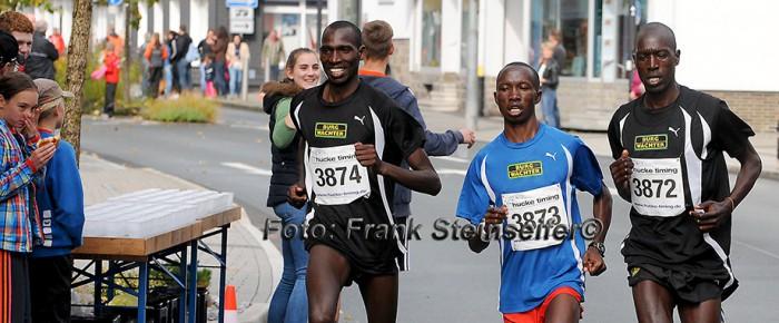 Läufertrio aus Kenia gewinnt 14. Citylauf Bad Berleburg