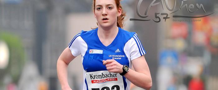 Laura-Christin Kring zur LG Olympia Dortmund