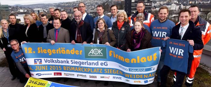 Das WIR gewinnt beim 12. Siegerländer AOK Firmenlauf