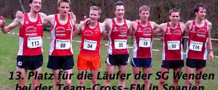 SG Wenden gelingt Platz 13 bei der Team-Cross-EM in Spanien