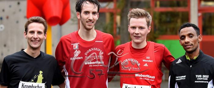 Tim-Arne Sidenstein läuft neuen Streckenrekord beim Ausdauer-Cup-Lauf 2015 in Herdorf