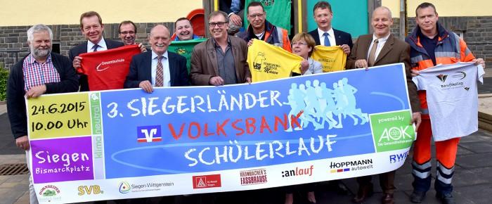 Laufen macht Schule: 3. Siegerländer Volksbank Schülerlauf in den Startlöchern