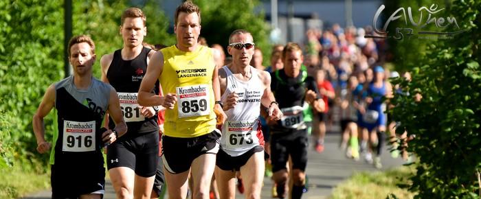 620 Läufer beim Turnfestlauf im Schwitzkasten