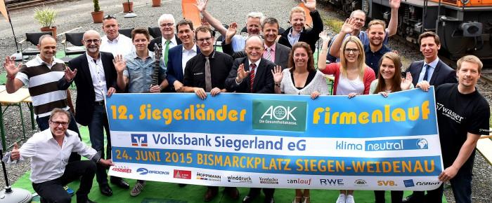 12. Siegerländer AOK-Firmenlauf in den Startlöchern – Limit von 9.000 Läufern fast erreicht