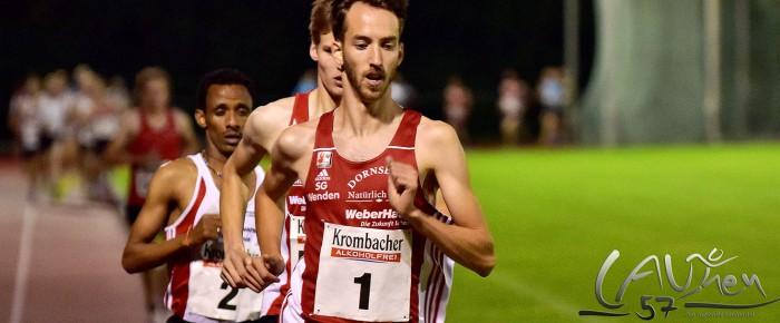 Tim-Arne Sidenstein gewinnt Molzberglauf über 5.000 Meter mit neuem Stadionrekord