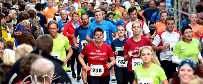 5. Westerwälder Firmenlauf 2015 mit Teilnehmerrekord von 1081 Startern