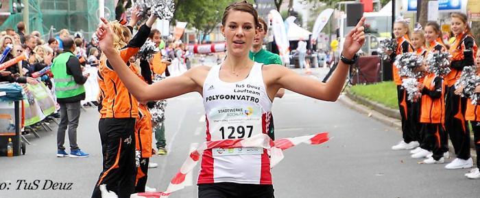 Tina Schneider Westdeutsche Meisterin im Halbmarathon
