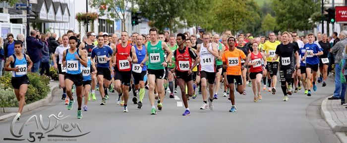 Marokkaner gewinnen beim 15. Bad Berleburger Citylauf