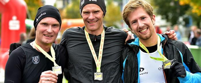 Österreicher gewinnt Marathon beim 29. Hachenburger Löwenlauf 2015