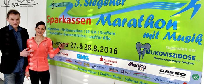 3. Siegener Sparkassen-Marathon mit Musik auf dem Weg zu neuen Ufern