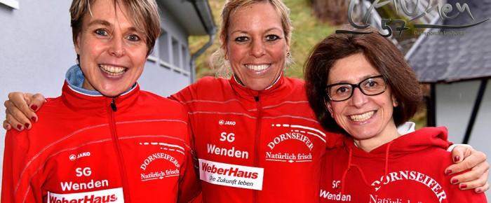 Frauen-Trio der SG Wenden läuft Deutschen Senioren-Rekord