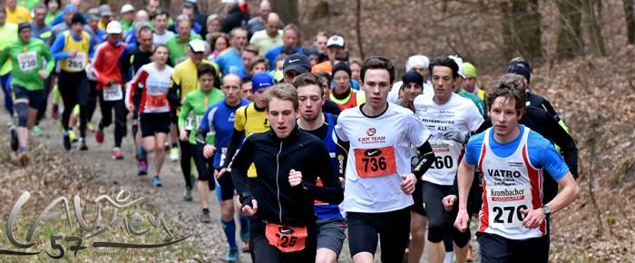 Tim Dally und Caprice Löhr gewinnen 18. Ferndorfer Frühjahrswaldlauf