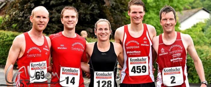 Quartett der SG Wenden dominiert beim Ausdauer-Cup in Mudersbach