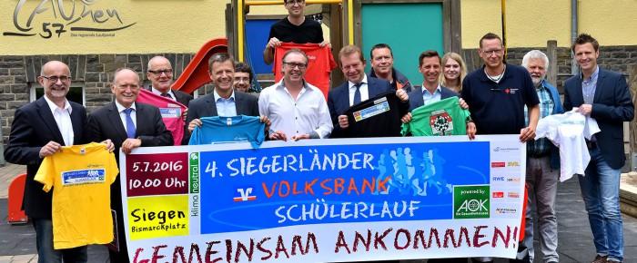 Über 7.000 Starter beim 4. Siegerländer Volksbank-Schülerlauf