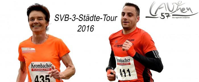 Wittgensteiner Böhl und Wagener siegen bei SVB-3-Städte-Tour 2016