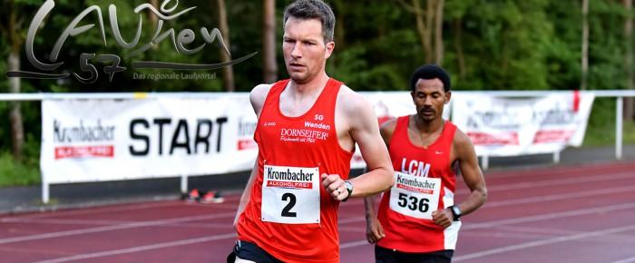 Sven Daub mit Start-Ziel-Sieg beim Ausdauer-Cup-Lauf am Molzberg