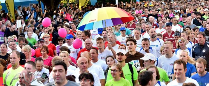 Siegen im Lauffieber: 9.000 Starter beim 13. Siegerländer AOK-Firmenlauf