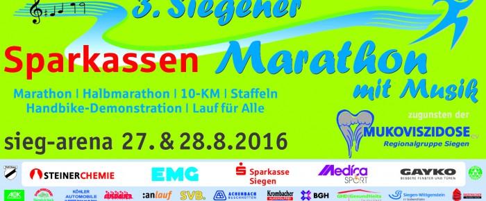 Hitzewelle: Zeitplan-Änderung (!) beim 3. Siegener Sparkassen Marathon