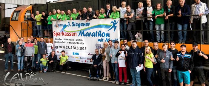 3. Siegener Sparkassen-Marathon mit Musik steht in den Startlöchern