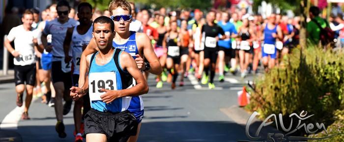 Marokkaner Khalid Lablaq gewinnt den 16. Citylauf Bad Berleburg 2016 – Jonas Hoffmann mit starkem Rennen