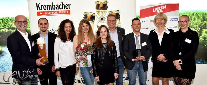 """Richard Ringer und Gesa Felicitas Krause """"Läufer des Jahres 2016"""""""