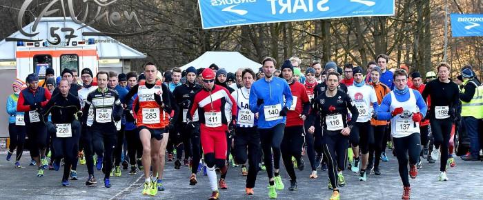 575 Sportler trotzten klirrender Kälte beim 38. Silvesterlauf an der Obernau