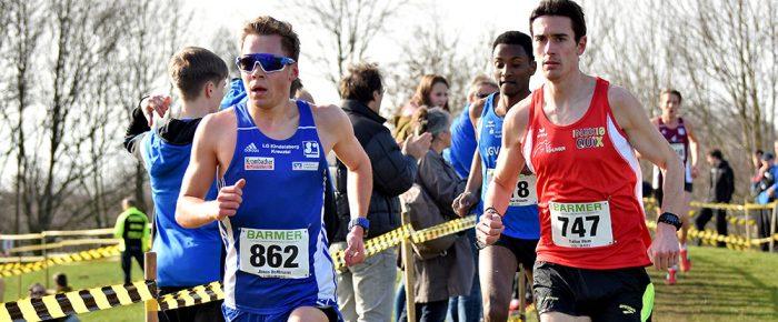 Jonas Hoffmann Deutscher Vizemeister der U23 im Crosslauf