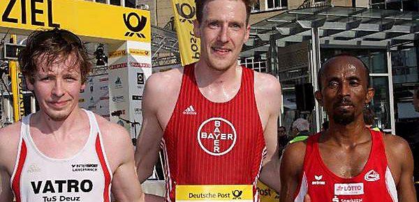 Deuzer Tim Dally Zweiter beim Halbmarathon in Bonn