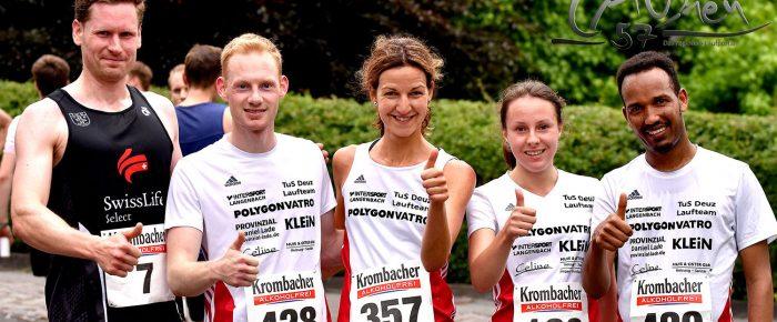 Jonas Winkel und Kathi Schäfers die besten Kletterer beim Ausdauer-Cup-Lauf in Mudersbach