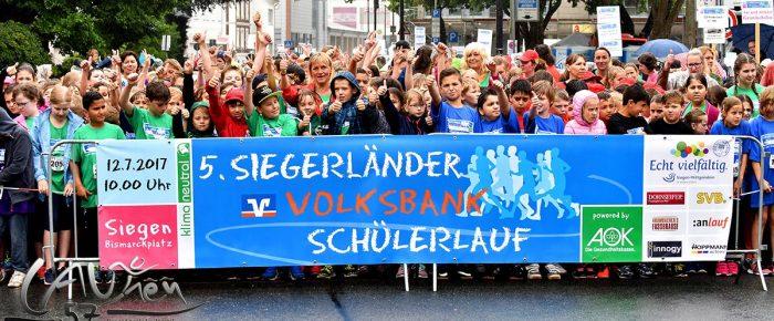 5. Siegerländer Volksbank-Schülerlauf: Gaaanz viel Nass – und trotzdem Spaß