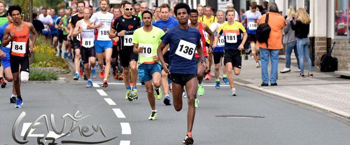 Eyob Solomun und Franziska Espeter Sieger beim 17. Citylauf Bad Berleburg