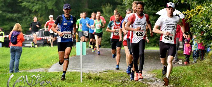 Marco Giese und Katharina Schäfers gewinnen 3. Wieland-Waldlauf 2017 des ASC Weißbachtal