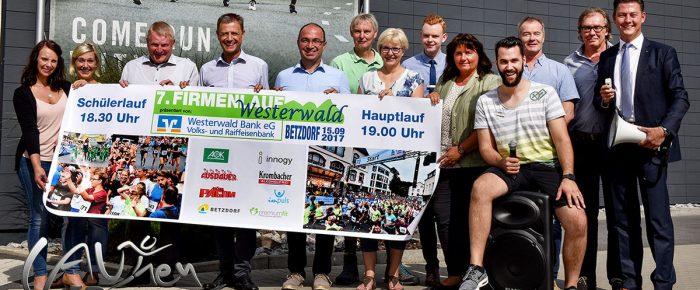 7. Westerwälder-Firmenlauf in Betzdorf am 15. September: Auch 2017 ein neuer Teilnehmerrekord – Premiere mit Schülerlauf