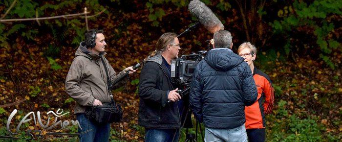 WDR-Filmteam dreht Beitrag zum Jubiläum 10 Jahre Sieg-Arena