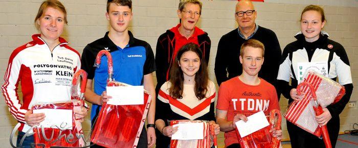 Rothaar-Laufserie um den AOK-Cup 2017: 77 Nachwuchssportler geehrt
