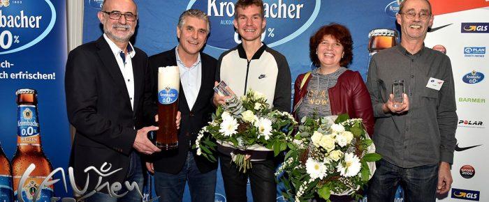 """Gesa Felicitas Krause und Arne Gabius """"Läufer des Jahres 2017"""""""