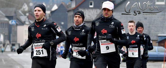 Start zum Ausdauer-Cup 2018 – Herdorf empfing Läufer mit einem Eisschrank