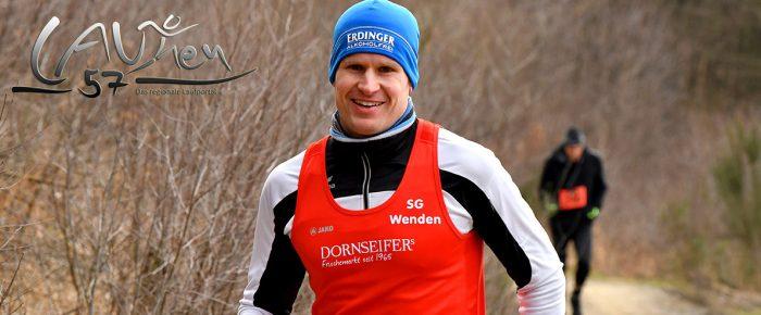 Tobias Lautwein und Franziska Espeter gewinnen 20. Ferndorfer Frühjahrswaldlauf