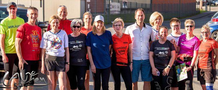 """Fit für den 15. Siegerländer AOK-Firmenlauf mit """"Easy Running"""""""