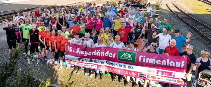 Startschuss zur Firmenlauf-Saison 2018 – 200 Gäste beim Läuferfest an der Eintracht