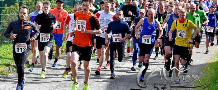 Startschuss zum AOK-Rothaar-Cup 2018: 500 Läufer beim 40. Erndtebrücker Volkslauf