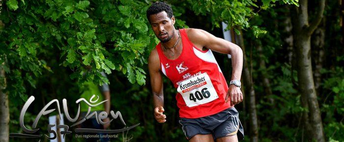 Äthiopier Gidey Kasay Überraschungssieger beim Deuzer Sparkassen Pfingstlauf 2018