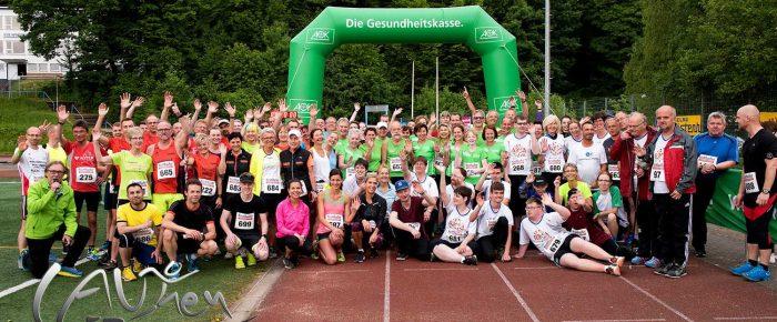 10. Stundenlauf / Paarlauf mit Musik auf der Glück-Auf-Kampfbahn mit neuen Rekorden