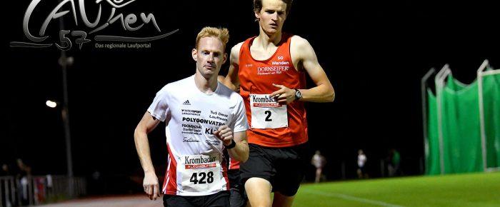 Nils Schäfer und Steffi Osthoff gewinnen Ausdauer-Cup über 5000 Meter am Molzberg