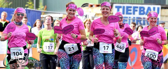 1. Siegener Women's Run – farbenfrohes Laufspektakel von Frauen für Frauen