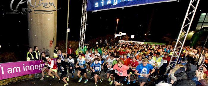"""Teilnehmerrekord: 621 """"Schneeräumer"""" beim 6. Innogy Lichterlauf Siegen"""
