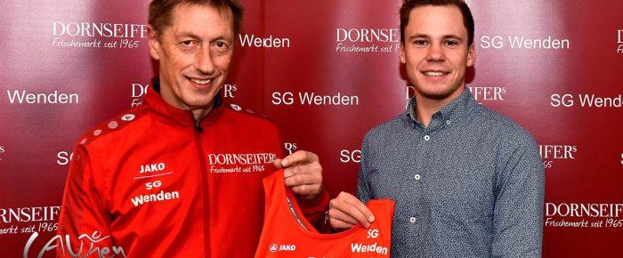 Hilchenbacher Jonas Hoffmann läuft künftig für die SG Wenden