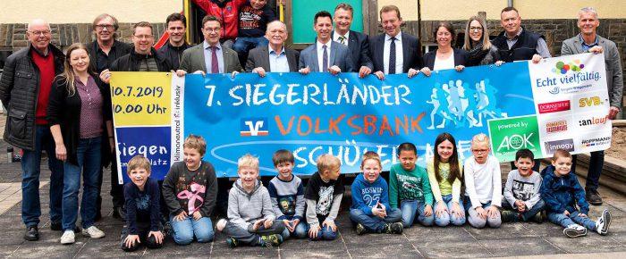 Starterlimit erreicht: 7.000 beim 7. Siegerländer Volksbank Schülerlauf